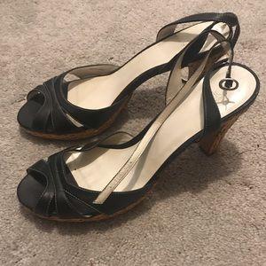Black Loft Heels